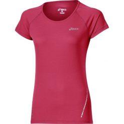 T-shirt Asics Short Sleeve Top 110422-6016. Czerwone t-shirty damskie Asics, z materiału. W wyprzedaży za 79.99 zł.