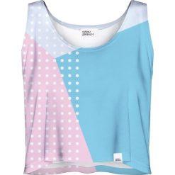 Colour Pleasure Koszulka damska CP-035 27 różowo-niebieska r. XL-XXL. T-shirty damskie Colour Pleasure. Za 64.14 zł.