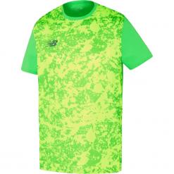 Koszulka New Balance MT710005VDC. Zielone koszulki sportowe męskie New Balance, z materiału. W wyprzedaży za 129.99 zł.