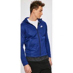 Nike Sportswear - Bluza. Niebieskie bluzy męskie Nike Sportswear, z bawełny. W wyprzedaży za 219.90 zł.