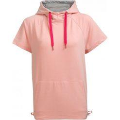 Bluza damska BLD603 - pudrowy koral - Outhorn. Różowe bluzy damskie Outhorn, na lato, z bawełny. W wyprzedaży za 49.99 zł.