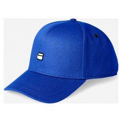 G-Star Raw - Czapka. Niebieskie czapki i kapelusze męskie G-Star Raw. Za 179.90 zł.