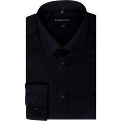 Koszula  SIMONE KDCS000323. Czarne koszule męskie Giacomo Conti, z bawełny, z klasycznym kołnierzykiem. Za 169.00 zł.