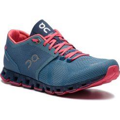 Buty ON - Cloud X 00020 Lake/Coral 99984. Niebieskie obuwie sportowe damskie On, z materiału. Za 649.00 zł.
