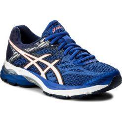 Buty ASICS - Gel-Flux 4 T764N  Blue Purple/White/Indigo Blue 4801. Niebieskie obuwie sportowe damskie Asics, z gumy. W wyprzedaży za 269.00 zł.
