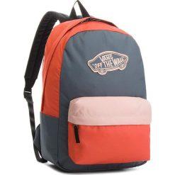 Plecak VANS - Realm Backpack VN000NZ0P5C Dark Slate/E. Szare plecaki damskie Vans, z materiału, sportowe. W wyprzedaży za 119.00 zł.