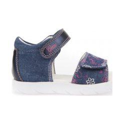 Geox Sandały Dziewczęce Alul 22 Niebieski. Niebieskie sandały dziewczęce Geox. W wyprzedaży za 149.00 zł.
