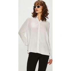 Tommy Jeans - Koszula. Szare koszule damskie Tommy Jeans, z jeansu, casualowe, z długim rękawem. Za 399.90 zł.