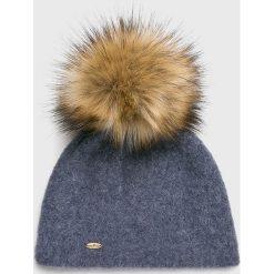 Starling - Czapka. Szare czapki i kapelusze damskie Starling, z dzianiny. W wyprzedaży za 99.90 zł.