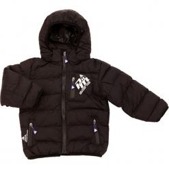 Kurtka w kolorze czarnym. Czarne kurtki i płaszcze dla chłopców Peak Mountain, na zimę. W wyprzedaży za 172.95 zł.