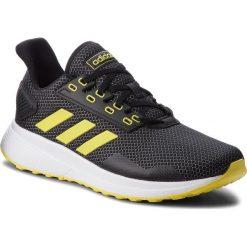 Buty adidas - Duramo 9 BB6905  Cblack/Shoyel/Ftwwht. Czarne buty sportowe męskie Adidas, z materiału. W wyprzedaży za 199.00 zł.