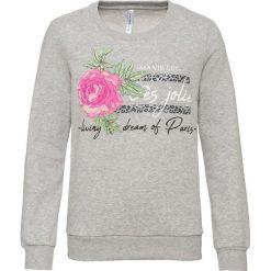 Bluza dresowa bonprix szary melanż. Szare bluzy damskie marki Sinsay, z motywem z bajki. Za 59.99 zł.