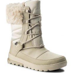 Śniegowce MERRELL - Aura Mid Lace Polar Wtpf J45684 Oyster Grey. Śniegowce i trapery damskie Merrell, z materiału. W wyprzedaży za 289.00 zł.