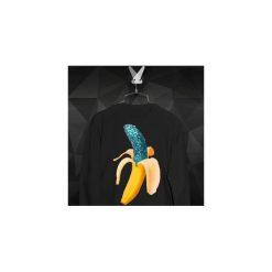 Bluza Brokatowy Banan - Damska. Czarne bluzy męskie Failfake, z bawełny. Za 160.00 zł.