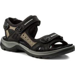 Sandały ECCO - Offroad 06956350034 Black/Mole/Black. Czarne sandały męskie ecco, z materiału. Za 419.90 zł.