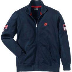 Bluza rozpinana ze stójką Regular Fit bonprix ciemnoniebieski. Bluzy męskie marki KALENJI. Za 89.99 zł.