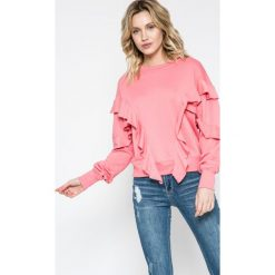 Missguided - Bluza. Szare bluzy damskie Missguided, z bawełny. W wyprzedaży za 59.90 zł.