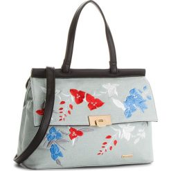 Torebka WITTCHEN - 86-4Y-551-N Niebieski. Niebieskie torebki do ręki damskie Wittchen, z materiału. W wyprzedaży za 169.00 zł.