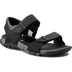 Sandały MERRELL - Telluride Strap J71101 Black. Czarne sandały męskie Merrell, z materiału. W wyprzedaży za 229.00 zł.
