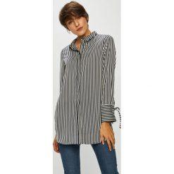 Vero Moda - Koszula. Szare koszule damskie Vero Moda, w paski, z poliesteru, eleganckie, z długim rękawem. W wyprzedaży za 129.90 zł.