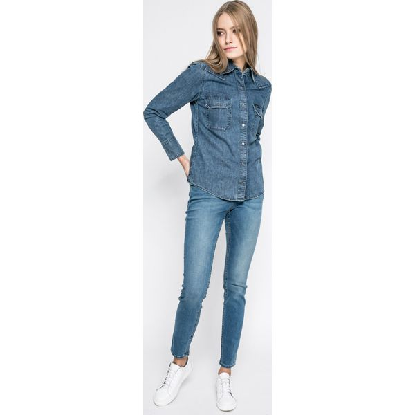 c906ca50a Calvin Klein Jeans - Koszula Western - Koszule damskie marki Calvin ...