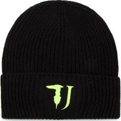 Czapka TRUSSARDI JEANS - Hat Knitted Framis Logo 57Z00080 K299. Czarne czapki i kapelusze męskie TRUSSARDI JEANS. Za 169.00 zł.