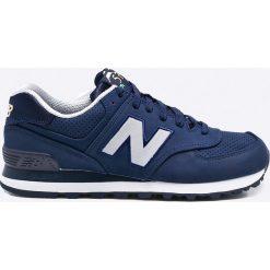 New Balance - Buty ML574SKH. Niebieskie buty sportowe męskie New Balance, z materiału. W wyprzedaży za 219.90 zł.