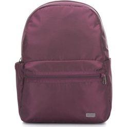 Plecak damski antykradzieżowy Daysafe Blackberry (PDA20520628). Brązowe plecaki damskie Pacsafe, sportowe. Za 299.99 zł.