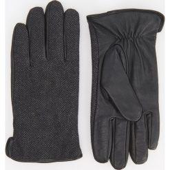 Rękawiczki - Szary. Szare rękawiczki męskie Reserved. Za 99.99 zł.