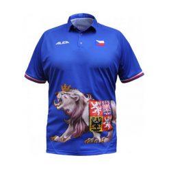 Alea Koszulka Polo Davis Cup 2012 Final Radek Stepanek Niebieski L. Niebieskie t-shirty i topy dla dziewczynek Alea. Za 169.00 zł.