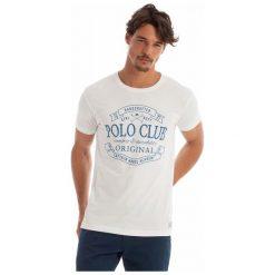 Polo Club C.H..A T-Shirt Męski L Biały. Koszulki polo męskie marki INESIS. W wyprzedaży za 119.00 zł.