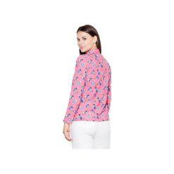 Koszula K428 Wzór 51. Różowe koszule damskie Katrus. Za 119.00 zł.