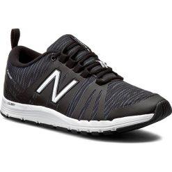 Buty NEW BALANCE - WX811BZ Czarny. Czarne obuwie sportowe damskie New Balance, z materiału. W wyprzedaży za 249.00 zł.