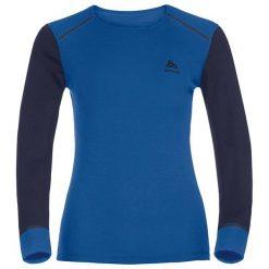 Odlo Koszulka damska Shirt L/s Crew Neck Warm niebieska r. S (152021). Koszulki sportowe męskie Odlo. Za 128.74 zł.