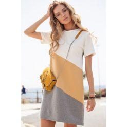 Sukienka trapezowa moe373. Pomarańczowe sukienki dla dziewczynek MOE, na lato. Za 129.90 zł.