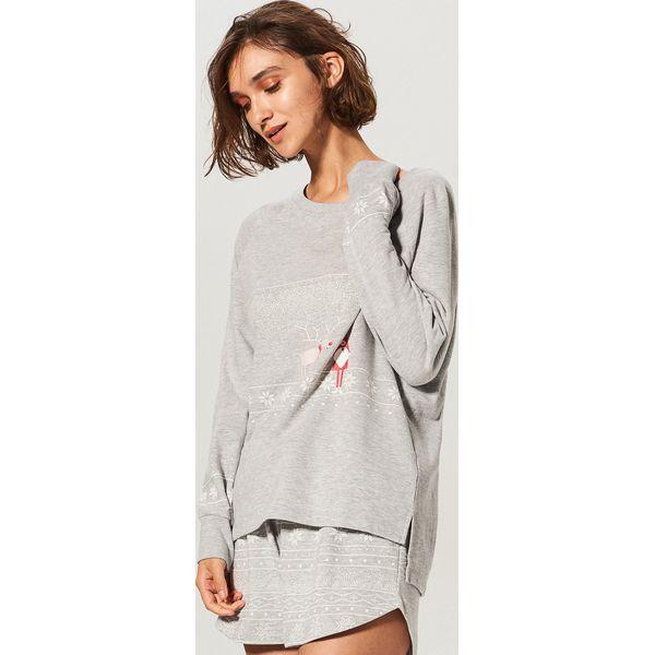 35618a96c52079 Dwuczęściowa piżama - Szary - Piżamy damskie marki Reserved. W ...