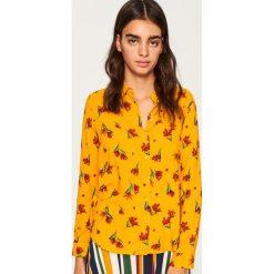 Koszula we wzory - Żółty. Żółte koszule damskie Reserved. Za 59.99 zł.