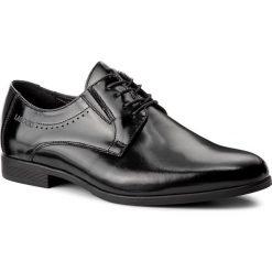Półbuty LASOCKI FOR MEN - TA-LL17 Czarny. Czarne eleganckie półbuty Lasocki For Men, z materiału. Za 229.99 zł.