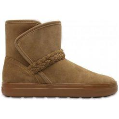 Crocs Buty Zimowe Lodgepoint Suede 37.5. Brązowe obuwie sportowe damskie Crocs, z gumy. W wyprzedaży za 279.00 zł.