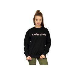 Bluza UNDERWORLD casual Since 1979. Czarne bluzy damskie Underworld, z nadrukiem, z bawełny. Za 119.99 zł.