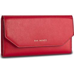 Duży Portfel Damski EVA MINGE - Benita 2W 17NB1372185EF 108. Czerwone portfele damskie Eva Minge, ze skóry. W wyprzedaży za 139.00 zł.