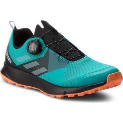 Buty adidas - Terrex Two Boa AC7906 Hiraqu/Ftwwht/Hireor. Niebieskie buty sportowe męskie Adidas, z materiału. W wyprzedaży za 389.00 zł.