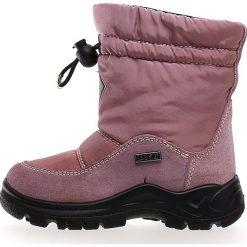 """Kozaki zimowe """"Varna"""" w kolorze szaroróżowym. Buty zimowe dziewczęce Zimowe obuwie dla dzieci. W wyprzedaży za 172.95 zł."""