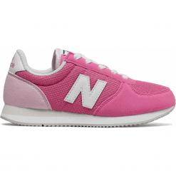 New Balance KL220BEY. Fioletowe buty sportowe dziewczęce New Balance, na lato, z materiału. Za 249.99 zł.
