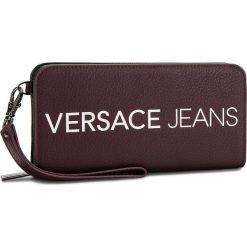 Duży Portfel Damski VERSACE JEANS - E3VSBPB1 70709 331. Czerwone portfele damskie Versace Jeans, z jeansu. Za 349.00 zł.