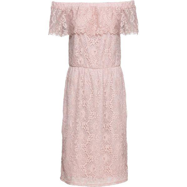350e9caead Sukienka koronkowa bonprix jasnoróżowy - Sukienki damskie marki ...