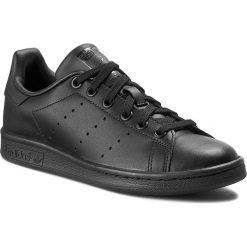 Buty adidas - Stan Smith M20327 Black1/Black1/Black1. Czarne buty sportowe męskie Adidas, z gumy. W wyprzedaży za 289.00 zł.