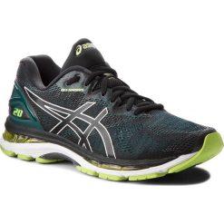 Buty ASICS - Gel-Nimbus 20 T800N  Black/Neon Lime 004. Czarne buty sportowe męskie Asics, z materiału. Za 759.00 zł.