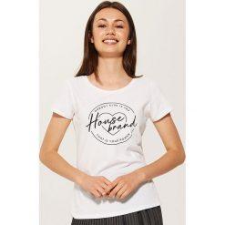 T-shirt Biały. Białe t-shirty damskie House. Za 25.99 zł.