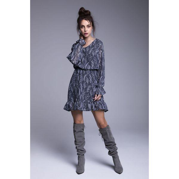 94906f150f Naoko - Sukienka Sukienka Hannah - Niebieskie sukienki damskie marki ...